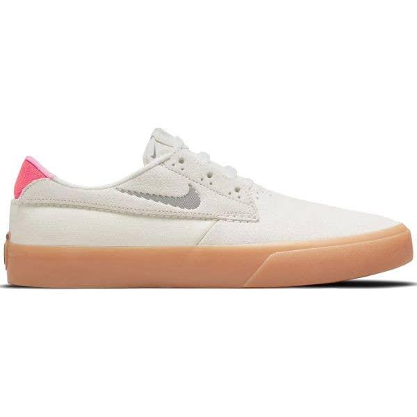 Nike SB Shane T Skate Shoes - Summit White/Black-Bright Crimson