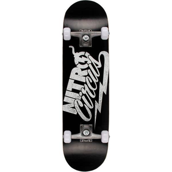 Nitro Circus Amplified Complete Skateboard - Black 8''
