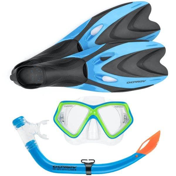 Osprey Junior Snorkel Set - Blue 12-1