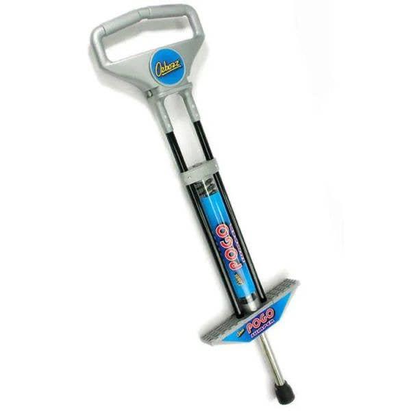Ozbozz 100cm Pogo Stick - Black/Silver