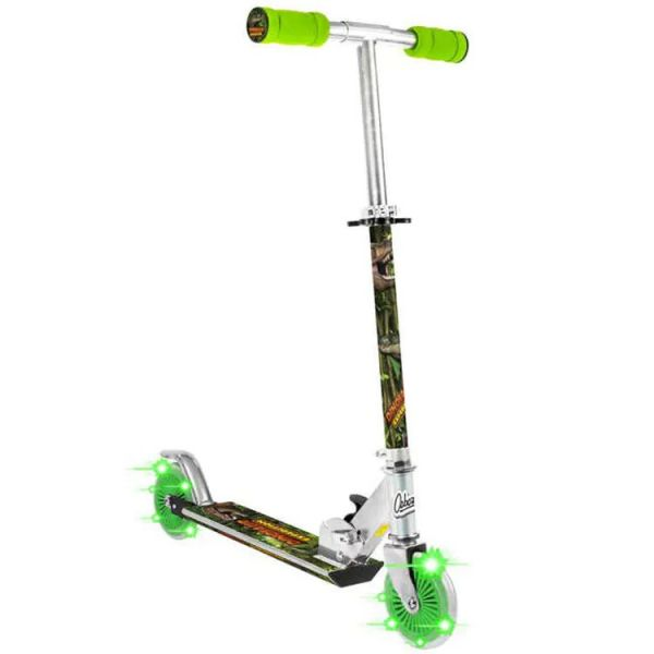 Ozbozz Dinosaur Scooter With 2 Light Up Wheels
