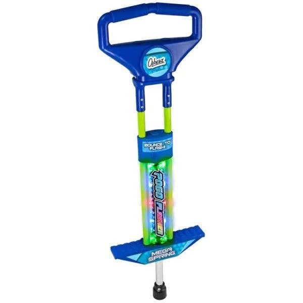 Ozbozz Go Light Up Pogo Stick - Blue