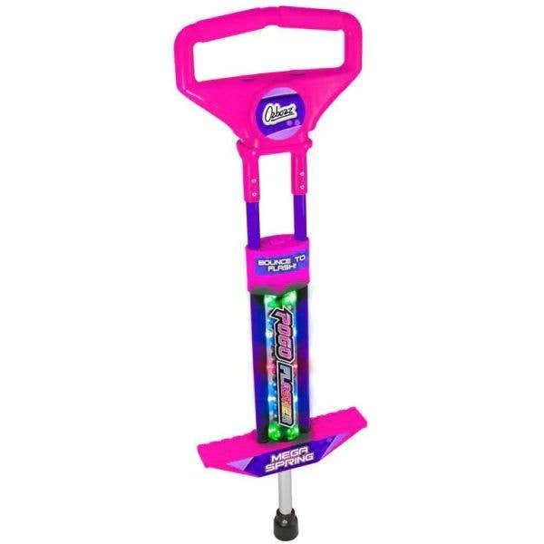 Ozbozz Go Light Up Pogo Stick - Pink