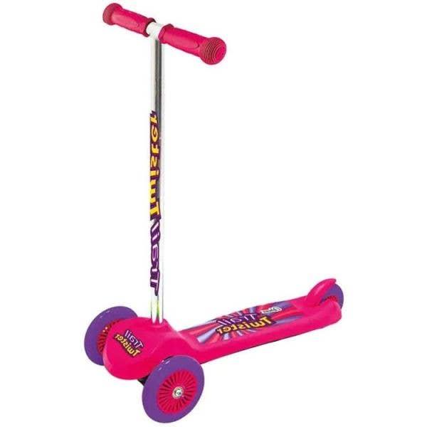 Ozbozz Trail Twist Scooter - Pink
