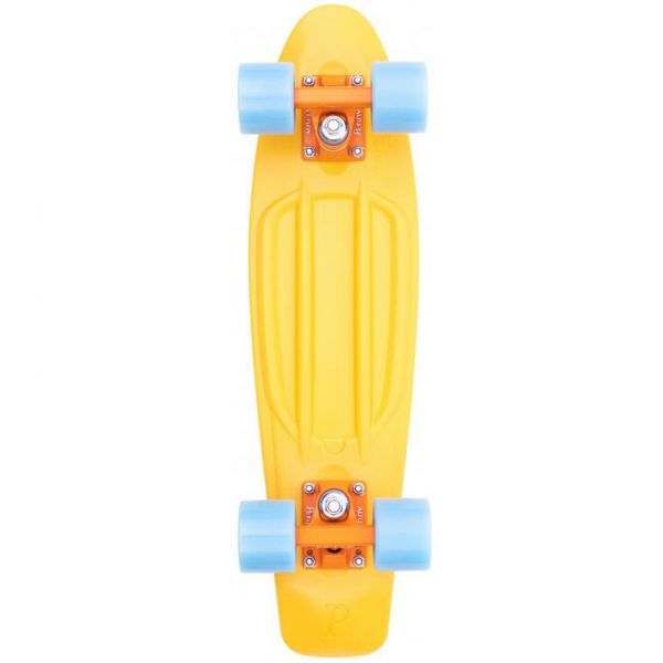 Penny High Vibe Complete Cruiser - Yellow/Blue 22''