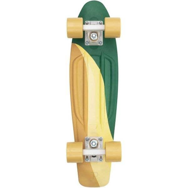 Penny Swirl Complete Cruiser - Green 22''