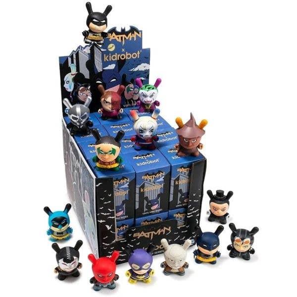 Batman X Kidrobot - Dunny Blind Box Figures