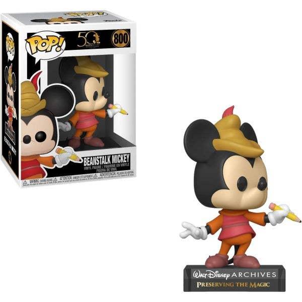 Funko POP! Vinyl - Disney Archives - Beanstalk Mickey