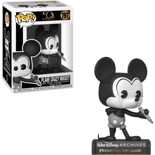 Funko POP! Vinyl - Disney Archives - Mickey Mouse (Black & White)