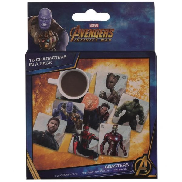 Marvel Infinity War Lenticular Coasters