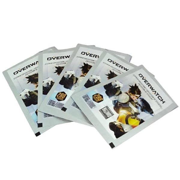 Overwatch Sticker Packs 5 Pack