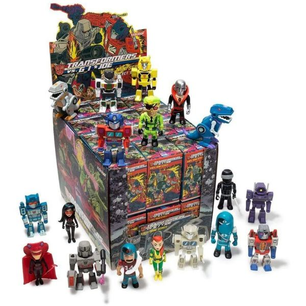Transformers Vs. G.I Joe - Mini Figure Series