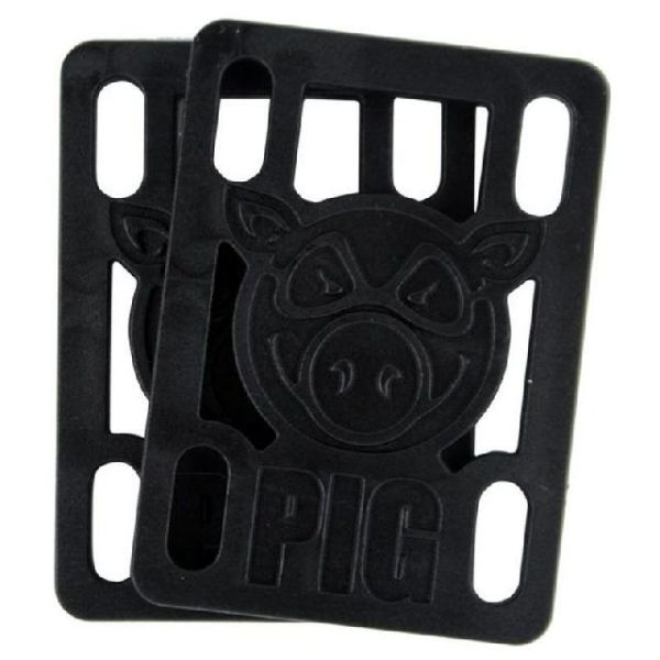 Pig Piles Riser Pads 1/4` - Black