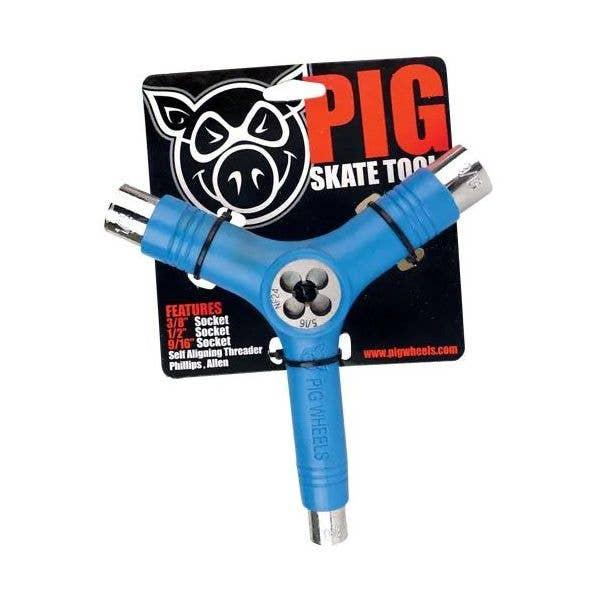 Pig Skateboard Tool - Blue