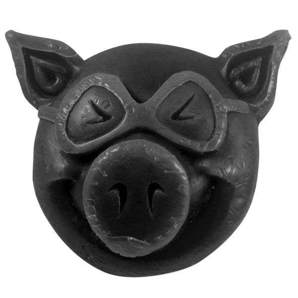 Pig Wheels Head Skateboard Wax - Black