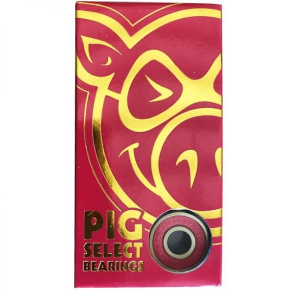 Pig Wheels Select Skateboard Bearings