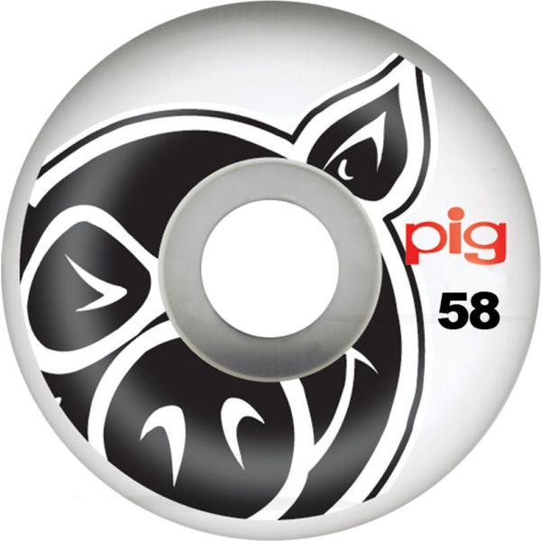 Pig Head Natural Wheels - 58mm