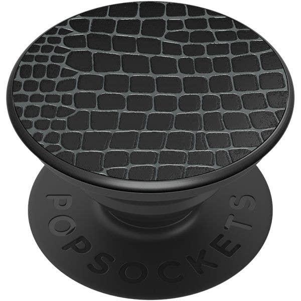 PopSockets Grip - Embossed Metal Croc - 2nd Gen