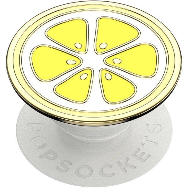 PopSockets Grip - Enamel Lemon Slice - 2nd Generation