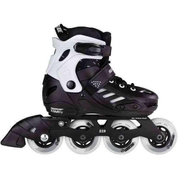 Powerslide Khaan Junior SQD Adjustable Inline Skates - Black