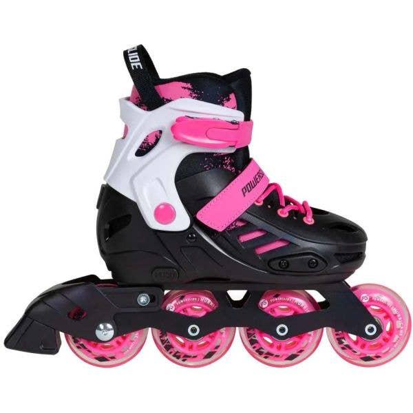 Powerslide Khaan Junior SQD Adjustable Inline Skates - Pink