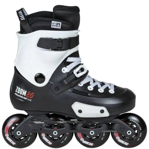 Powerslide Zoom Pro 80 Urban Skates - Black/White