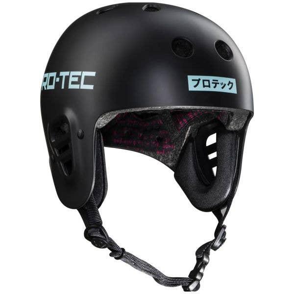 Pro-Tec Sky Brown Full Cut Certified Helmet - Black