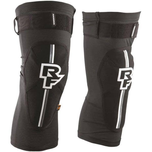 Race Face Indy Knee D30 Stealth Knee Pads - Black
