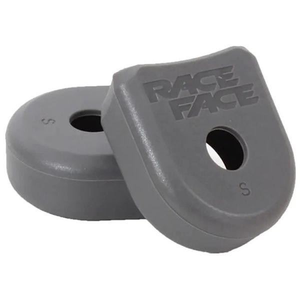 Race Face 2021Alloy Crank Boots - Grey (2 Pack)