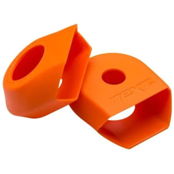 Race Face 2021 Carbon G4 Next Crank Boots - Orange (2 Pack)