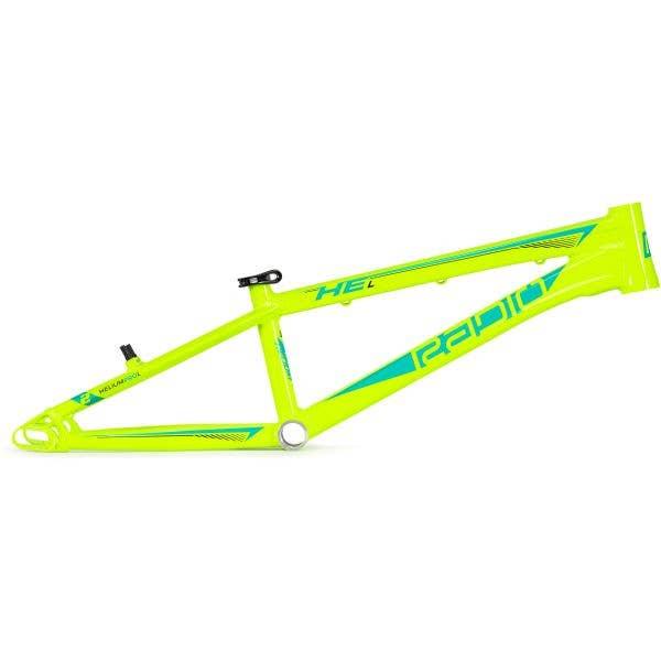 Radio Raceline Helium Pro L 20.9'' BMX Frame - Neon Yellow