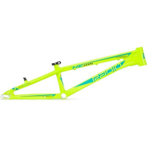 Radio Raceline Helium Pro XXXXL 22.5'' BMX Frame - Neon Yellow