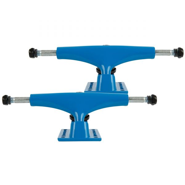 Rampage Rasp Skateboard Trucks - Blue 5.25''