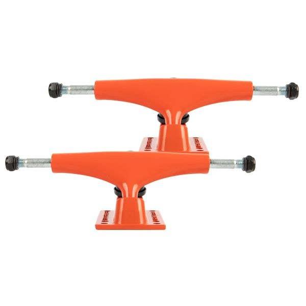 Rampage Rasp Skateboard Trucks - Fire Red 5.25''