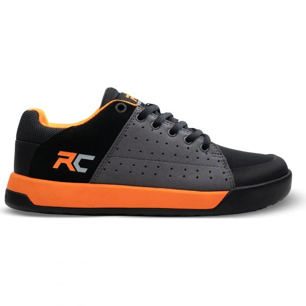 Ride Concepts Livewire Youth MTB Shoe - Charocal/Orange