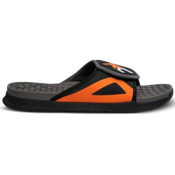 Ride Concepts Coaster Sandals - Black/Orange UK 7