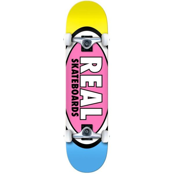 Real Team Edition Oval Complete Skateboard - 7.3''