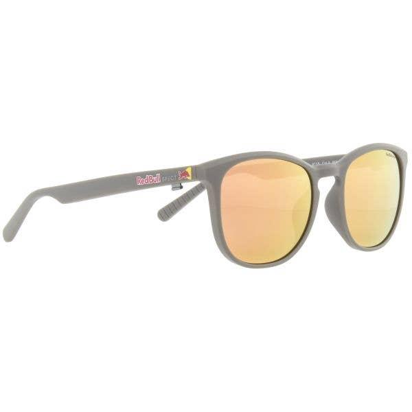 Red Bull SPECT Eyewear Steady Sunglasses - Matt Warm Grey/Brown with Peach Mirror