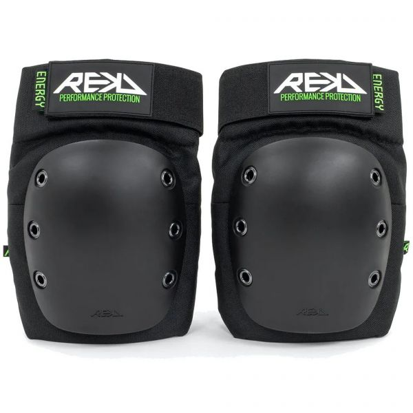 REKD Energy Ramp Knee Pads - Black
