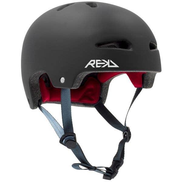 REKD Junior Ultralite In-Mold Helmet - Black