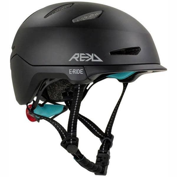 REKD Urbanlite E-Ride Helmet - Black