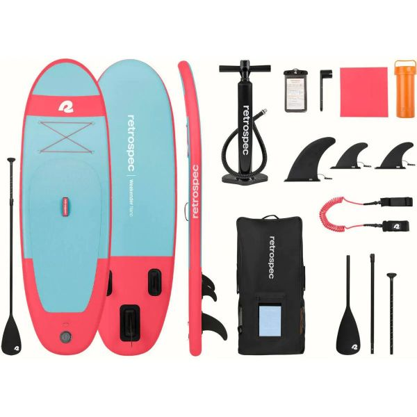 Retrospec Nano SL 8' Inflatable Paddle Board - Starfish