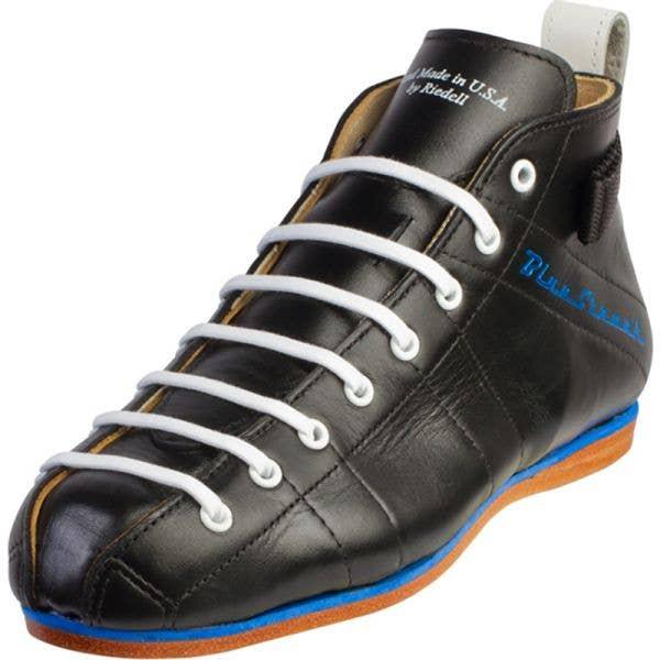Riedell Blue Streak Derby Boot - Black - Width BAA