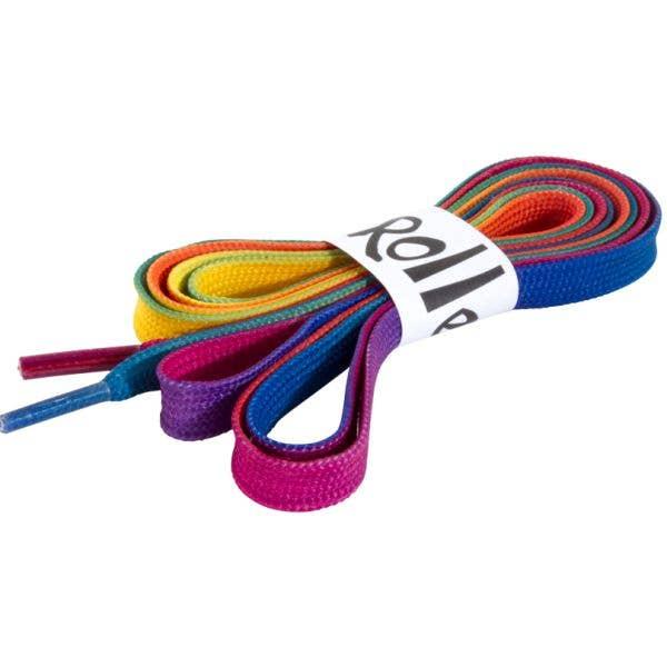 Rio Roller Quad Skate Laces - Rainbow