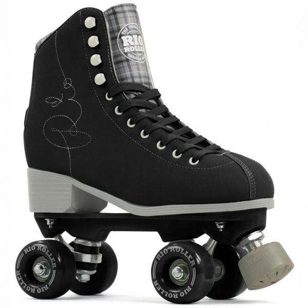 Rio Roller Signature Quad Roller Skates - Black