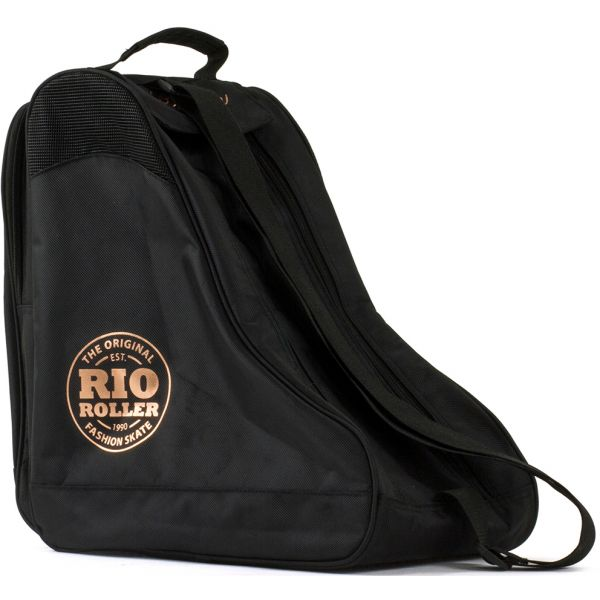 Rio Roller Rose Skate Bag - Black/Gold
