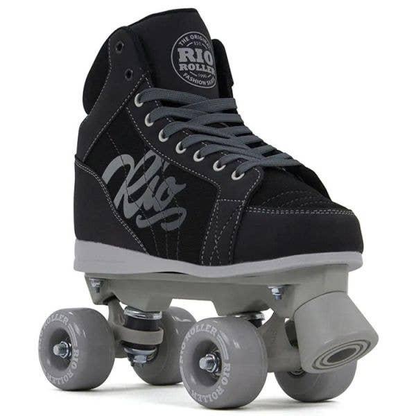 Rio Roller Lumina Quad Roller Skates - Black/Grey