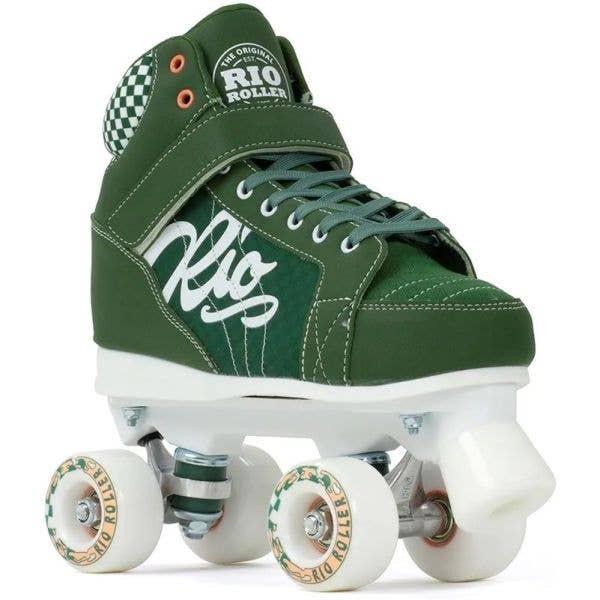 Rio Roller Mayhem II Quad Roller Skates - Green
