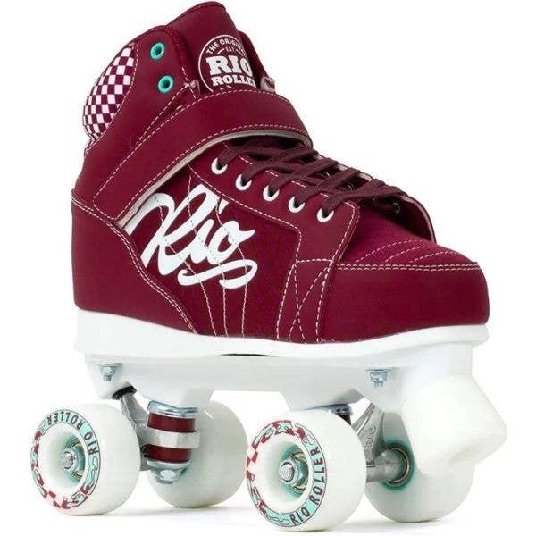 Rio Roller Mayhem II Quad Roller Skates - Red