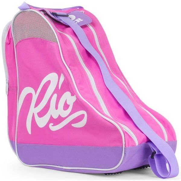 Rio Roller Script Skate Bag - Pink/Lilac